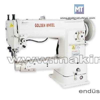 Kalın Baş Çanta Makinesi / Golden Wheel Cs-6210n-B