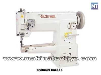 Silindir Burun Transportlu Çanta Makinesi / Golden Wheel Cs-8703