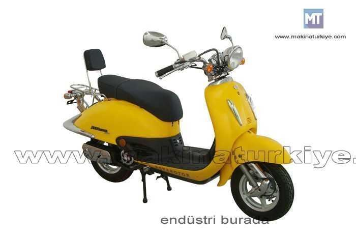 Asya 125 Cc Scooter As 125t Nostalji