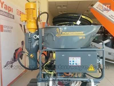 Putzmeister ALÇI MAKINASI MP 25