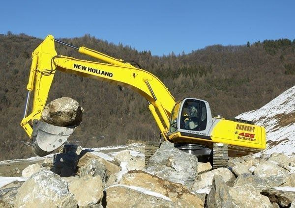 New Holland-Kobelco Paletli Ekskavatör ( 49,6 Ton - 340 Hp )