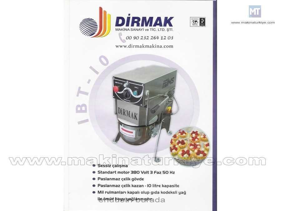 10 Lt. Planet Mikser / Dirmak Ibt 12-Ve