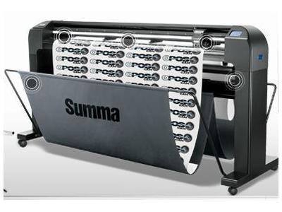 Folyo Kesim Makinası / Summa Opos-Cam 163 Cm Tanjant W