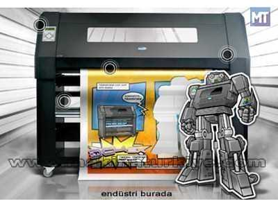 Termal Bas Kes Makinası / Summa Dc4sx