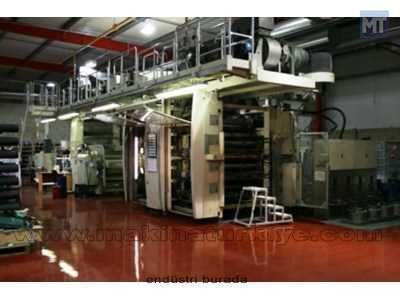 2. El Tamburlu Flexo Baskı Makinası Schiavi SIGMA