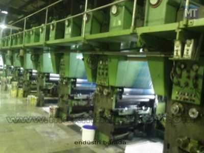 2. El Rotogravür Baskı Makinası
