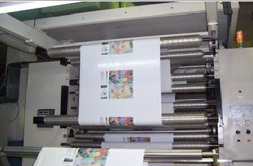 Merkezi Tamburlu Flexo Baskı ( 850 Mm ) 2