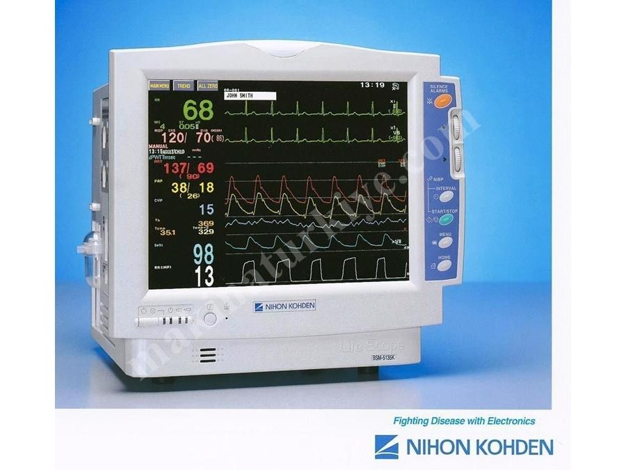 Gaz Ölçüm Özellikli Hastabaşı Monitör Sistemi / Life Scope A Bsm-5105