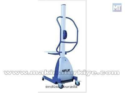 Alüminyumlu Akülü İstif Makinası / Netlift Net-Mes 150