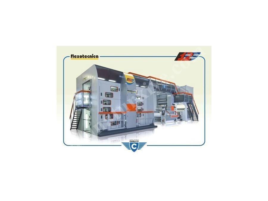 Merkez Tamburlu Flexo Baskı / Flexotecnıca F12