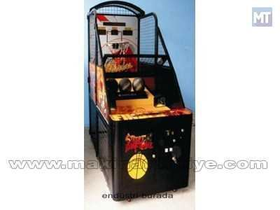 Jetonlu Basketbol Makinası