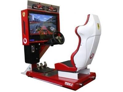 Jetonlu Araba Yarışı / Alfa Mını Formula1