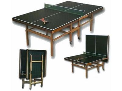 Ahşap Ayaklı Masa Tenisi