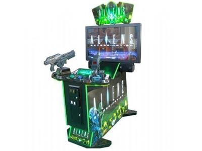 Jetonlu Silah Oyun Makinası / Alfa Tcw017