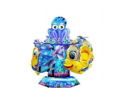 Çocuk Oyun Makinesi / Alfa Octopus Paul