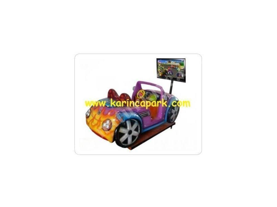 Jetonlu Mario Araba Oyun Makinası