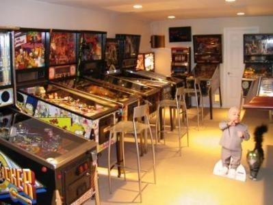 Jetonlu Pinball Oyun Makinası