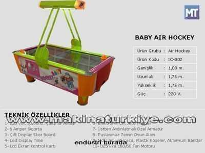 Baby Air Hockey Masası / Tekno-Set Ic-002 2