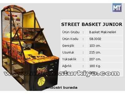 Junior Basketbol Makinesi / Tekno-Set Sbj 002 2