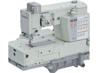 Kansai MAC-100 Elektronik Programlı Kenar İşleme Ve Kroşeta Makinası