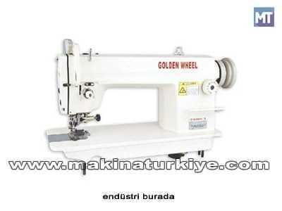 Golden Wheel CS-5200 Bıçaklı Düz Dikiş Makinası