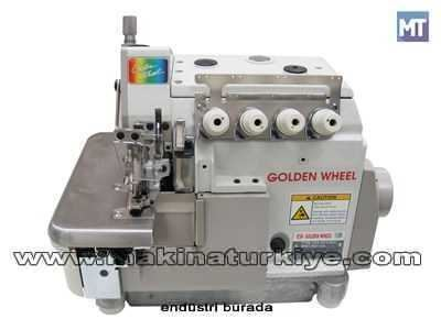 4 İplik Overlok Makinası Golden Wheel CS-2614 1