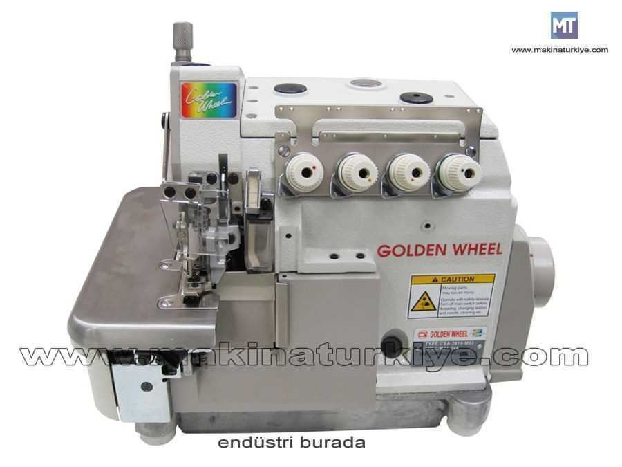 4 İplik Overlok Makinası Golden Wheel CS-2614