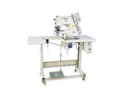 Elektronik Transportlu 6 İğne Kot Kemer Makinası