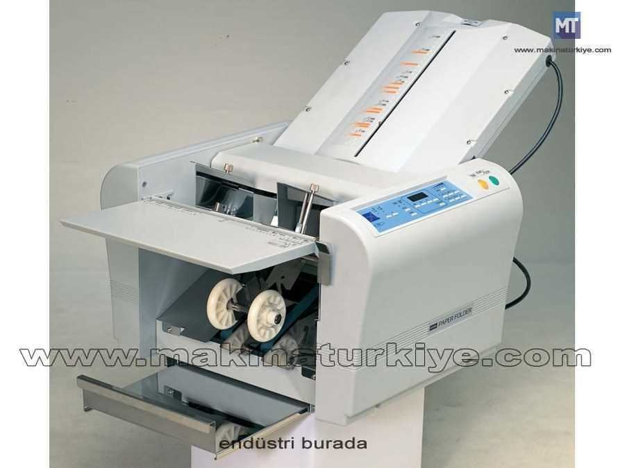 Uchida F 43N Masa Üstü Kağıt Katlama Makinası 10,600 A4 Broşür / saat