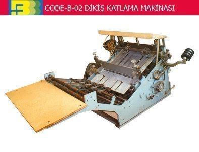 Katlama Ve Dikiş Makinası ( 70 Cm )