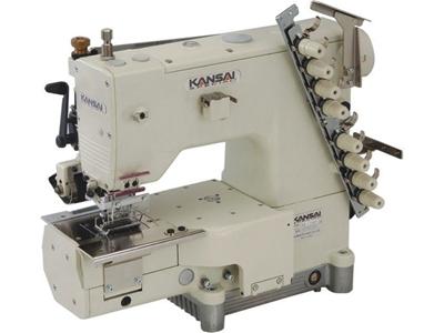 Kansai FBX-1104 PR 4 İğne Transportlu Çekerli Zincir Dikiş Kemer Makinası