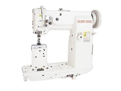 Sütunlu Çift İğne Deri Dikiş Makinası / Golden Wheel Cs-8350