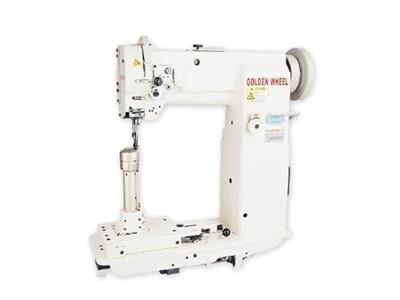 Sütun Burunlu Tek İğne Deri Dikiş Makinesi / Golden Wheel Cs-8368m