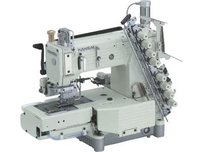 Kansai FX-4404-P-UTC Burunlu 4 İğneli Lastik Kemer Makinası