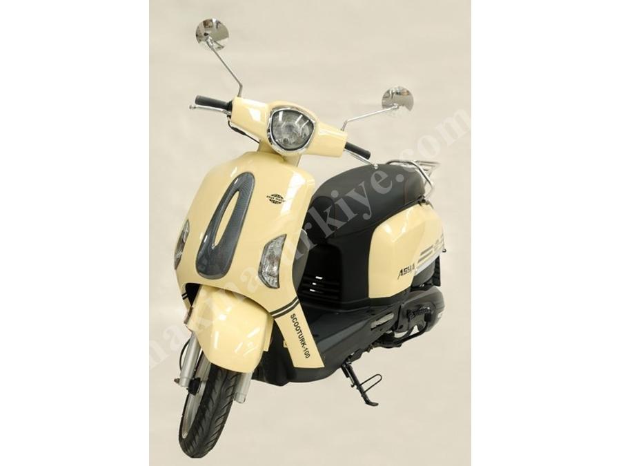 Asya 97.2cc Motosiklet Scootürk-100