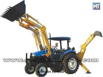Traktör İçin Mini Kazıcı