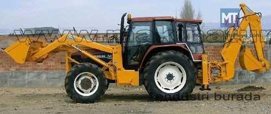 Traktör Üzeri Kazıcı Yükleyici