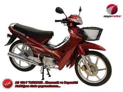Asya 97cc Motosiklet As100-7 Türkcub
