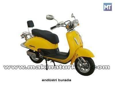 Asya 125 Cc Scooter As 125t Nostalji 1