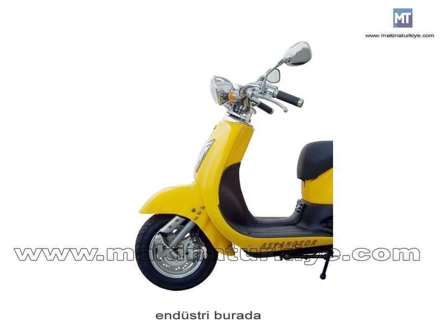 Asya 125 Cc Scooter As 125t Nostalji 3