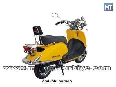 Asya 125 Cc Scooter As 125t Nostalji 4