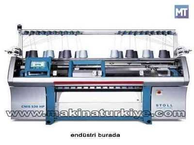 Triko Örgü Makinesi / Stoll Cms 530 Hp