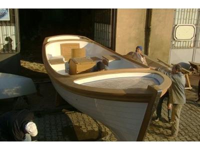 6.50 M Polyester Tekne Tik Ağacı / Karayel Pt-6.50 T