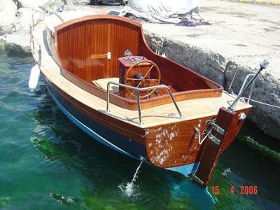 7.10 M Polyester Kamaralı Tekne / Karayel Pt-7.10 K