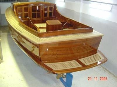 8.10 M Kamaralı Ahşap Tekne / Karayel At-8.10 K