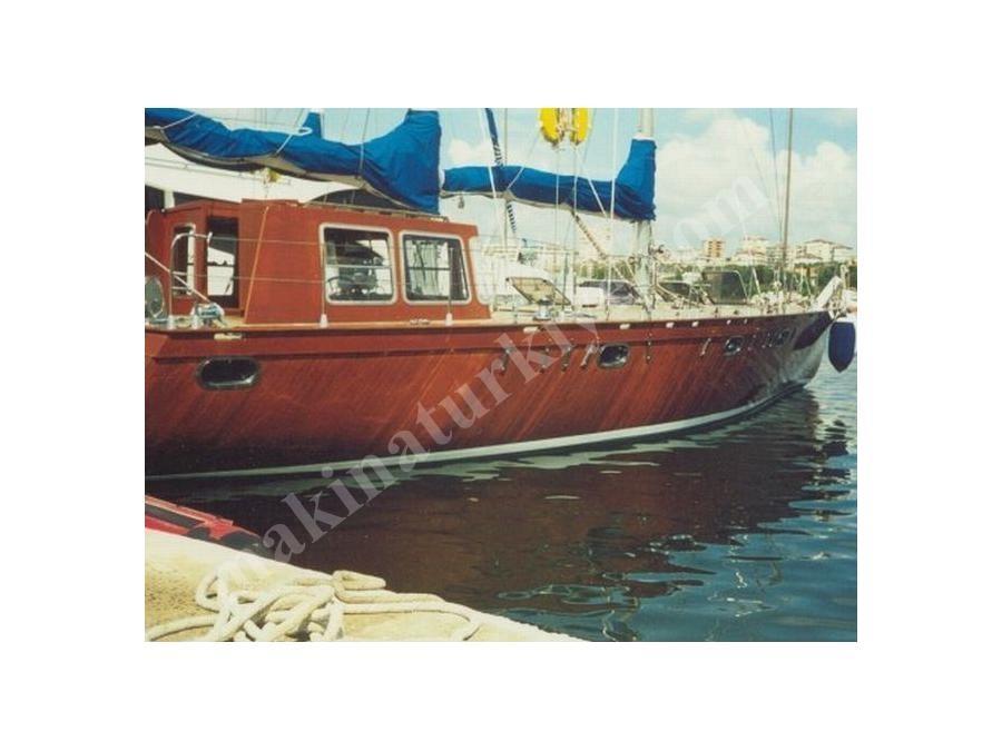 16.80 M Ahşap Yelkenli Tekne / Karayel Y-16.80