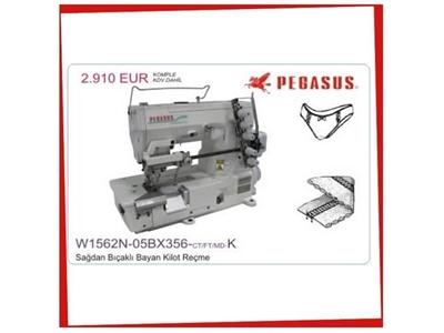 Pegasus W1562n-05bx356-Ct/Ft/Md-K Sağdan Bıçaklı Reçme