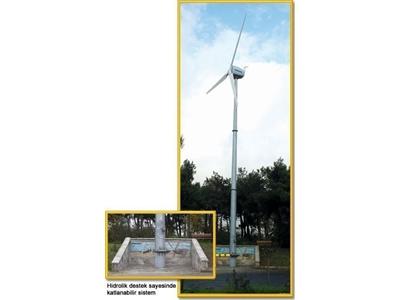 5 KW Rüzgar Jeneratörü - 3 Kanatlı