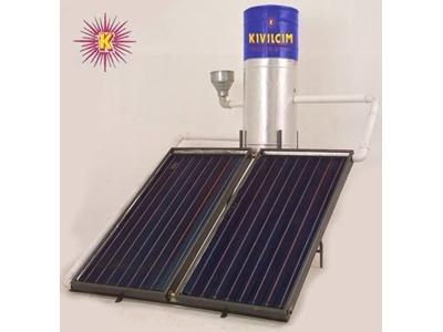 Şamandıralı Dik Güneş Isı Sistemi / Kıvılcım Dg-1 Ş