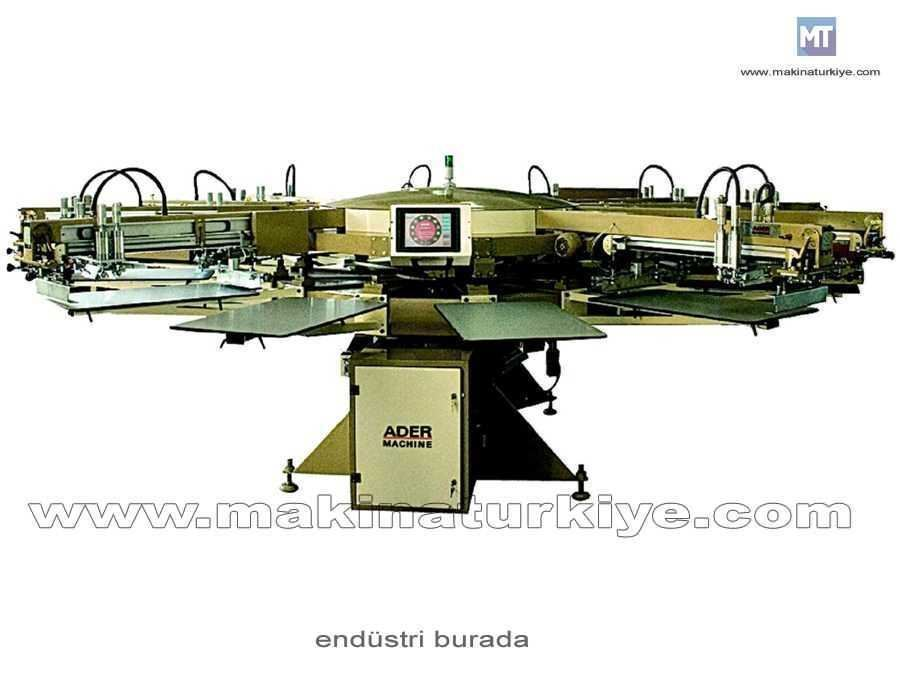 Ahtapot Baskı Makinası / Ader An14-16